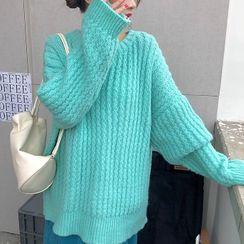 Rorah(ロラ) - Plain Sweater / Midi Skirt