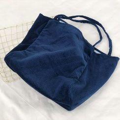 Echo Forest - 纯色灯芯绒手提袋