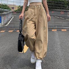 Genrovia - Cropped Harem Pants