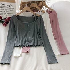 Wilder Dreams - Long-Sleeve Buttoned Top