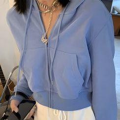 Midoray - 短袖T裇 / 細肩帶後繫帶A字連衣中裙