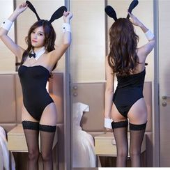 Momilove - Rabbit Costume Lingerie Set