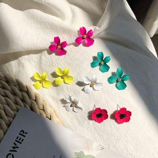 Taimi - 925纯银花朵耳环 (多款设计)