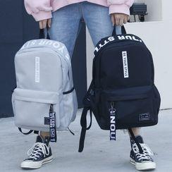 Outsider(アウトサイダー) - Lettering Lightweight Backpack