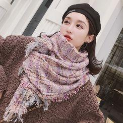 zitapompom - Knit Fringe Scarf