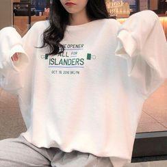 Mushini - Loose-Fit Long-Sleeve T-Shirt
