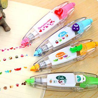 Good Living - Cinta decorativa para las máquinas de pegatinas Cute Novelty