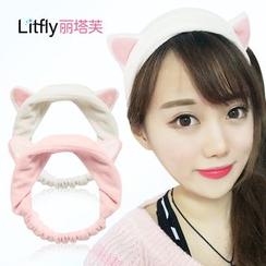 Litfly - Haarband mit Katzenohren