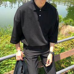 MRCYC - Elbow-Sleeve Polo Shirt