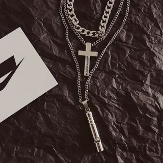 InShop Watches - Alloy Cross / Whistle / Necklace / Set