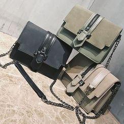 Nautilus Bags - Buckled Shoulder Bag