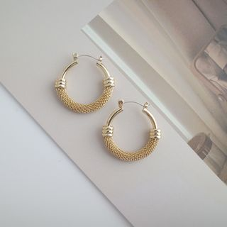 Covette - Alloy Hoop Earring