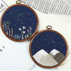 Embroidery Kingdom - 星座刺繡DIY材料包