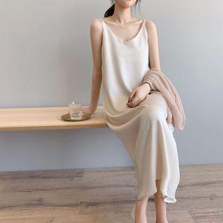 BiBiQueen - Spaghetti-Strap Midi Dress