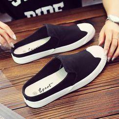 Solejoy - Canvas Mule Sneakers