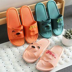Showroom(ショウルーム) - Animal Bathroom Home Slippers