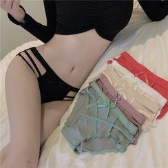 ever after - Set of 3: Cutout Panties