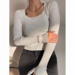 NDZ - Plain Knit Top