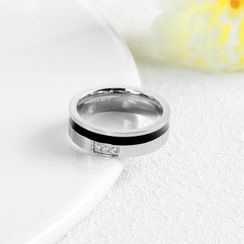 腾翼 - 情侣水钻戒指