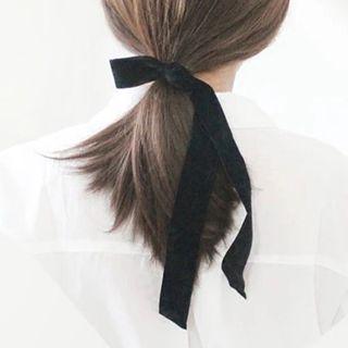 SUGAR STUDIO  - Bow-Accent Hair Tie