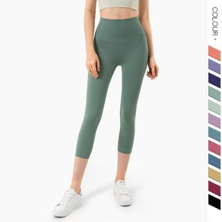 Circuca - High-Waist Cropped Sports Leggings