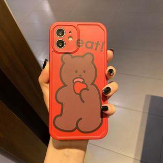 Huella - Cartoon Phone Case For iPhone SE / 7 / 7 Plus / 8 / 8 Plus / X / XS / XR / XS Max / 11 / 11 Pro / 12 Mini / 12 / 12 Pro / 12 Pro Max