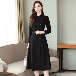 Rouxenne - Single Breasted Coat Dress