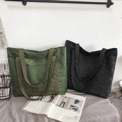 SUNMAN - Plain Nylon Tote Bag