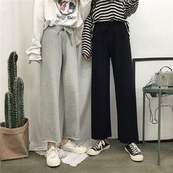 EdenPoe - Wide-Leg Sweatpants