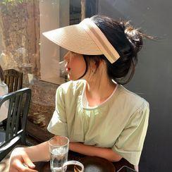 CAPROOM - 空顶防晒草帽