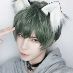 Aynu - 短款假髮 - 直髮