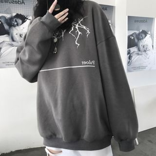 Chisan - Lettering Pullover