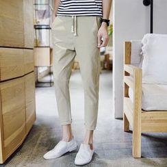 Masowild - Plain Tapered Pants