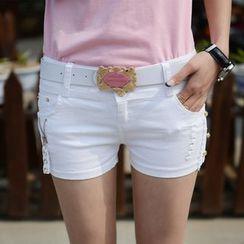 Sugar Hime - Skinny Shorts