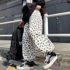 Banash - 豹纹印花哈伦裤