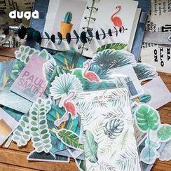 DUGA - 复古贴纸 (多款设计)