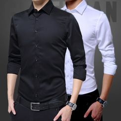 Acrius(アクリウス) - Plain Shirt