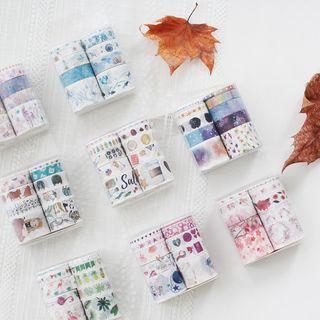 SASHI - Set of 10: Printed Masking Tape