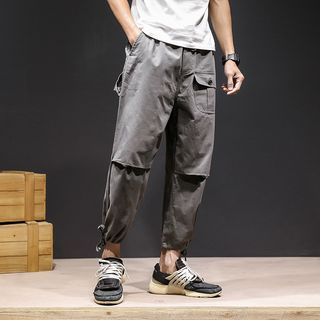 Granada - Cropped Harem Pants