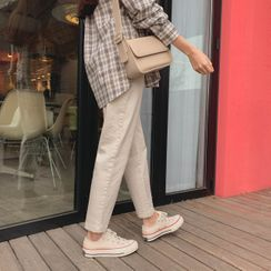 CHERRYKOKO - Relaxed-Fit Chino Pants