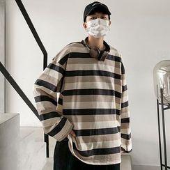 Tiaota - Striped Long-Sleeve T-Shirt