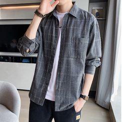 SuperLittle - Long-Sleeve Plaid Shirt