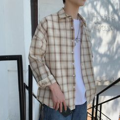 JUN.LEE - Plaid Shirt