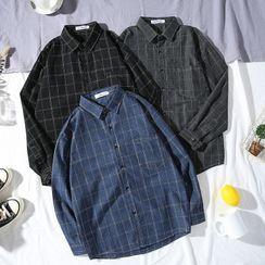 YAVER - Checked Shirt