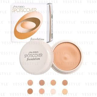 Shiseido - Spots Cover Foundation 20g - 8 Types