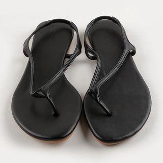 MERONGSHOP - Sling-Back Thong Sandals