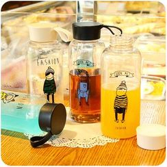 Chimi Chimi - Print Plastic Hot Water Bottle