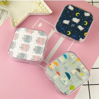 Voon - Cartoon Print Contact Lens Case
