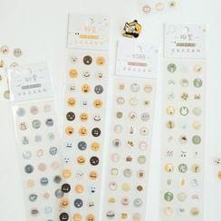 Monez - Conjunto de pegatinas (varios diseños)