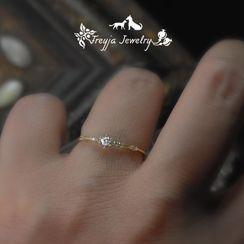 HIGH NOON - Alloy Rhinestone Ring